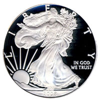 U.S. Mint Silver Bullion Coin Sales Hit Record High