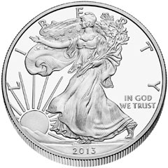 American Eagle Silver Bullion Coin Demand Remains Strong – 2014 Should Shatter Previous Sales Record