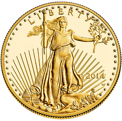 Gold American Eagle Bullion Coin Sales Soar 37% in June – Will Gold Outperform Stocks in 2014?