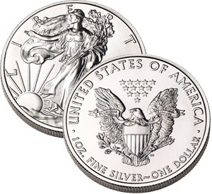 American Eagle Silver Bullion Coin Sales Drop Sharply from Previous Month and Year