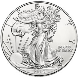 American Eagle Silver Bullion Coin Sales Up From Previous Year and On Track For Record Breaking 2014 Sales